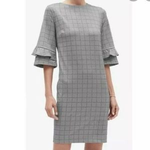 Banana Republic Womens 12 Dress Houndstooth Check